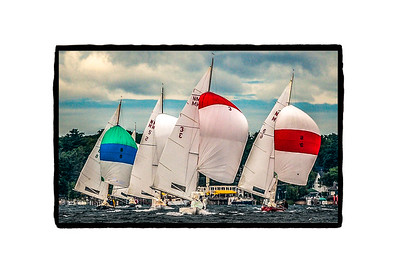NM with Spinnakers - Special Order - Vellum