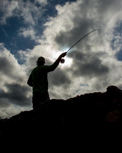 © Klug Photos – Uraima Falls, Venezuela – Fly Fishing for Payara