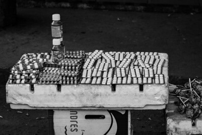 Place of sale of candies and medicines. Puerto Santander, Colombia. Photo: Dany Krom.