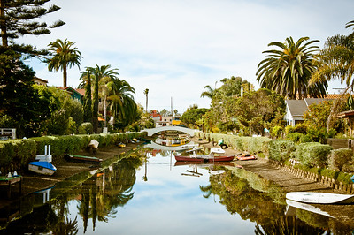 Venice Canals Venice Beach California