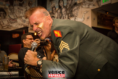 08.25.16 Colonel Klink at Danny's.  Photo by www.VenicePaparazzi.com
