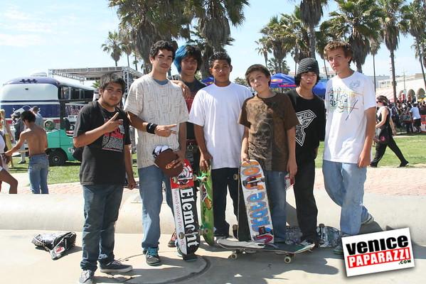 2008   June 21st.  Go Skateboarding Day. Venice Beach Boardwalk event with Redbull.