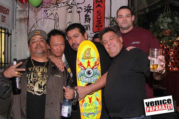 2008.  Nov. 4th.  Venice Originals' Block (Cesario) Birthday Party at Hama Sushi.  Photos by Venice Paparazzi.  www.hamasushi.com   www.myspace.com/veniceoriginals