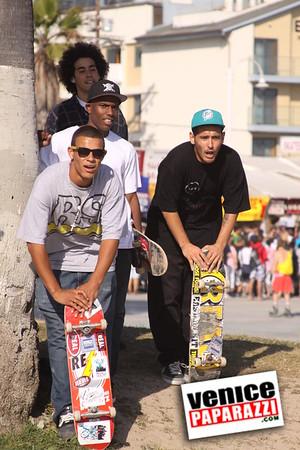 2009.  June 21st. International Skateboarding day at Venice Beach.  Hosted by Red Bull.