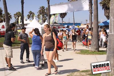 09 06 09  SuperGirl Jam Contest in Venice Beach   Lyn-z Adams Hawkins, Amy Caron, Venessa Torres, Lacey Baker Laurie Currier, Chanelle Sladics, Bryn Valaika and Raewyn Reid (8)