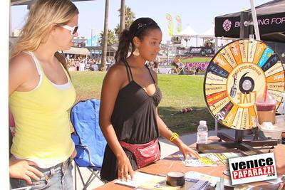 09 06 09  SuperGirl Jam Contest in Venice Beach   Lyn-z Adams Hawkins, Amy Caron, Venessa Torres, Lacey Baker Laurie Currier, Chanelle Sladics, Bryn Valaika and Raewyn Reid (13)