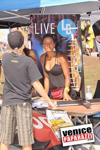 09 06 09  SuperGirl Jam Contest in Venice Beach   Lyn-z Adams Hawkins, Amy Caron, Venessa Torres, Lacey Baker Laurie Currier, Chanelle Sladics, Bryn Valaika and Raewyn Reid (12)
