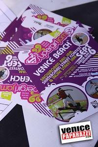 09 06 09  SuperGirl Jam Contest in Venice Beach   Lyn-z Adams Hawkins, Amy Caron, Venessa Torres, Lacey Baker Laurie Currier, Chanelle Sladics, Bryn Valaika and Raewyn Reid (19)