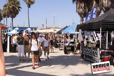 09 06 09  SuperGirl Jam Contest in Venice Beach   Lyn-z Adams Hawkins, Amy Caron, Venessa Torres, Lacey Baker Laurie Currier, Chanelle Sladics, Bryn Valaika and Raewyn Reid (14)
