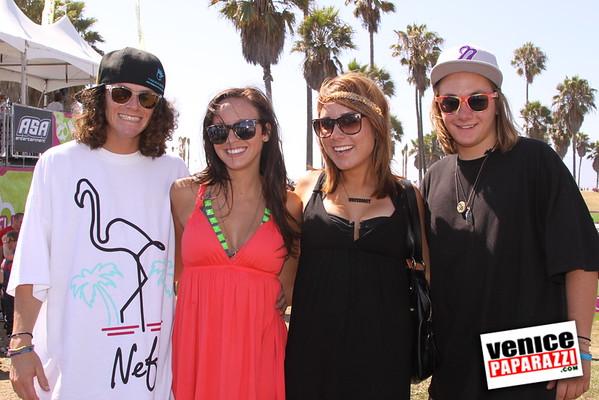09.06.09 SuperGirl Jam Contest in Venice Beach.  Snowboard Rail Jam, Skateboard Street Contest & Inline Street Jam