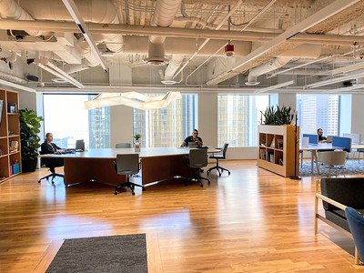 18th Floor, Reception Open Area