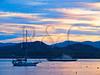 VT CHARLOTTE Essex_Charlotte Ferry Dock view of Lake Champlain and the Adirondack Mountains FERRY MAYAF_5182490MMW