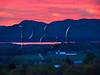 VT CHARLOTTE ON MOUNT PHILO view of Lake Champlain and the Adirondack Mountains MAYAF_5182552bMMW