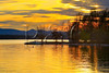 VT CHARLOTTE Essex_Charlotte Ferry Dock view of Lake Champlain and the Adirondack Mountains MAYAF _MG_0303bMMW