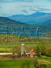 VT CHARLOTTE ON MOUNT PHILO view of Lake Champlain and the Adirondack Mountains MAYAF_5170101MMW