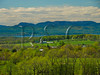 VT CHARLOTTE ON MOUNT PHILO view of Lake Champlain and the Adirondack Mountains MAYAF_5181969bMMW