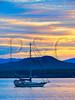 VT CHARLOTTE Essex_Charlotte Ferry Dock view of Lake Champlain and the Adirondack Mountains MAYAF_5182410MMW