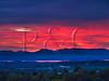 VT CHARLOTTE ON MOUNT PHILO view of Lake Champlain and the Adirondack Mountains MAYAF_5182576MMW