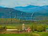 VT CHARLOTTE ON MOUNT PHILO view of Lake Champlain and the Adirondack Mountains MAYAF_5170152bMMW