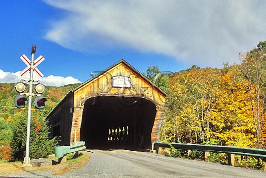 VT BARTONSVILLE COVERED BRIDGE 1 W