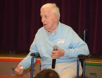 2013-30-10 WWII veteran at Erdenheim Elementary