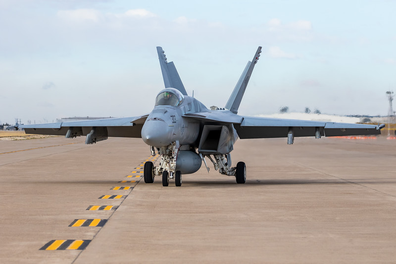 "-(Aircraft) Boeing F/A-18E Super Hornet<br /> -(Nation & Service) United States Navy<br /> -(Squadron) Strike Fighter Squadron 131 ""Wildcats"" <br /> -(Home Base) Naval Air Station Oceana, Virginia"