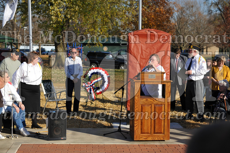 VFW New Memorial Ceremony 11-07-09 169