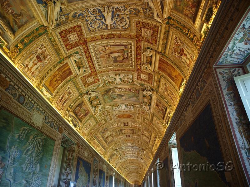 Museos Vaticanos, Galería de mapas cartográficos