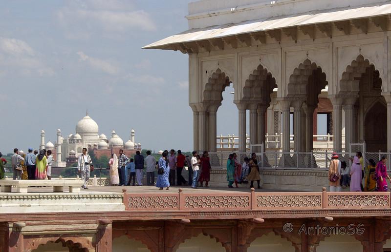 Fuerte rojo de Agra. Mussaman Burj
