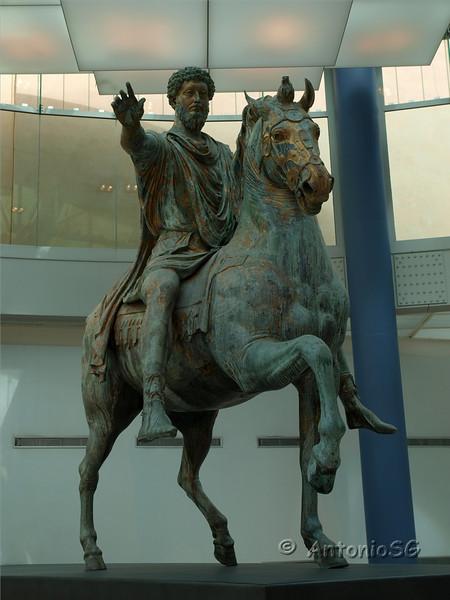 Museos Capitolinos. Marco Aurelio