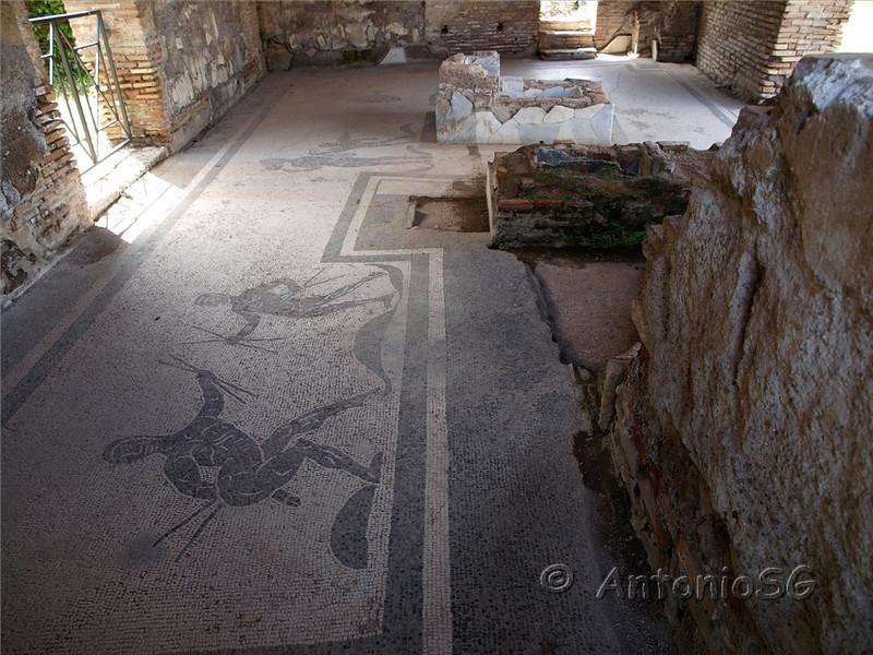 Ostia Antica , antiguo puerto de Roma