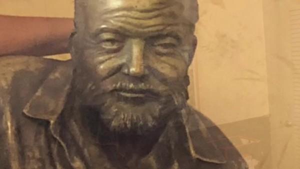 VIDEO; Cuba, Havana, Floridita bar, Ernst Hemingway bar, February 2019.