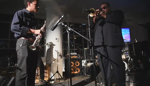 Wallace Roney / Jazz Foundation of America Loft Party
