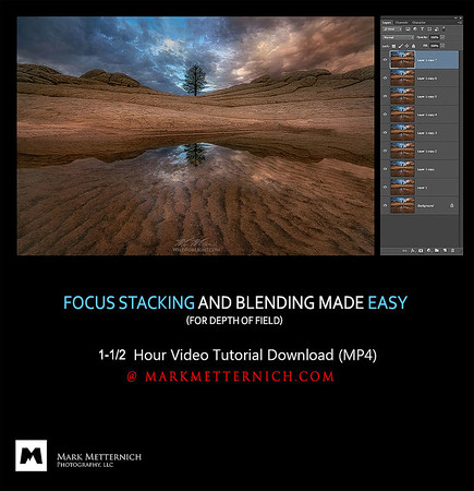 FOCUS STACKING AND BLENDING MADE EASY