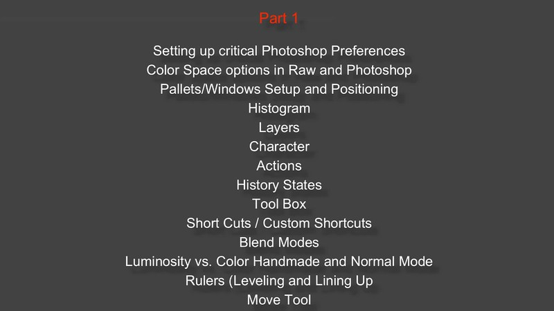 PHOTOSHOP BASICS - SHORT PROMO
