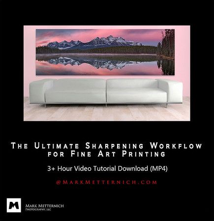 THE ULTIMATE SHARPENING WORKFLOW FOR FINE ART PRINTING