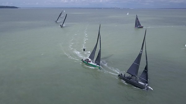 Race 1 Mark 1 Spinnaker Set