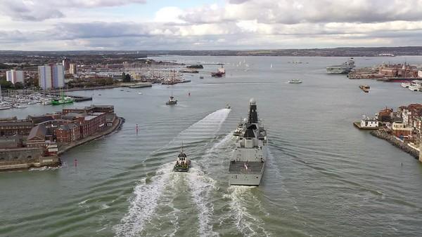 HMS Diamond 4k