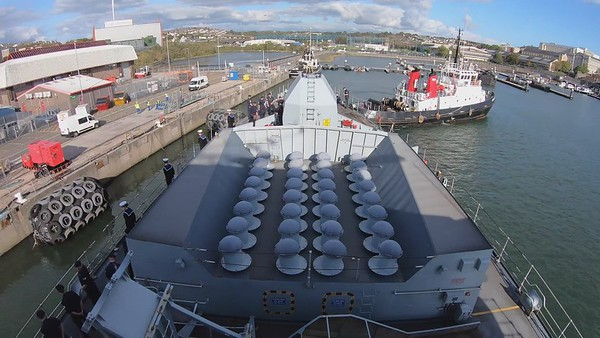 HMS Northumberland Hyperlapse 4k
