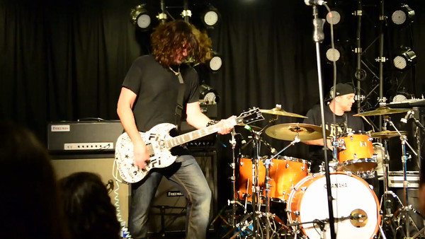 Phil X and The DRILLS with new drummer Randy Cooke at the Whitehouse, Anaheim NAMM 2013!