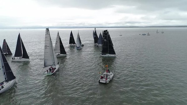 RORC Easter Regatta = Raw Drone Video