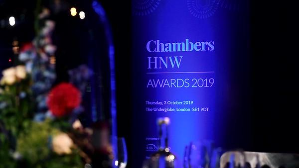 CHAMBERS AWARDS 2019