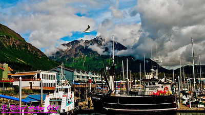 Obst Photos Nikon D300s Obst Adventure Travel Alaska Image 8759 or HSIUPAP_8759_AK07-SewardAKTOAnchorage&DenaliParkAK.MountainsFrameSewardBoatHarborAtHolidayInnExpress-B