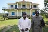 UG 291  Abayudaya Jews  Hasulube Elias (L, Muslim), and Yoav Yonadav J J  Keki (Jewish), directors, Peace Kawomera Growers Coop Society, Namanyonyi Sub-county, Mbale, Uganda