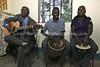 UG 238  Abayudaya Jews  Kabbalat Shabbat, Moses Synagogue, with Rabbi Gershom Sizomu (L)  Nabugoye Village, Mbale, Uganda