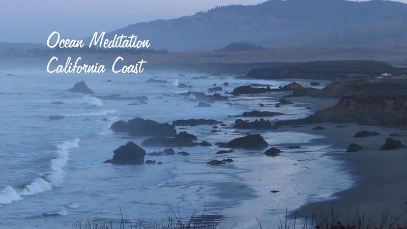 Ocean Meditation California Coast
