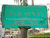 PA-D 54  Street sign near Shevet Ahim Synagogue  PANAMA CITY, PANAMA