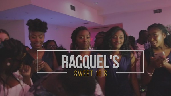 RAQUEL SWEET 16th