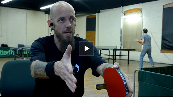 Table Tennis Coaching segment with Coach Steve Banet