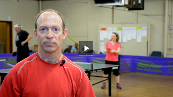 Table Tennis Footwork w/Nat. Coach John Allen